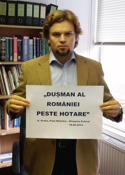 """""""Cei mai mari duşmani ai României peste hotare sunt tot românii"""" - Prim Ministru Victor V. Ponta, Eforie Nord - Diaspora Estival, 18.08.2014"""
